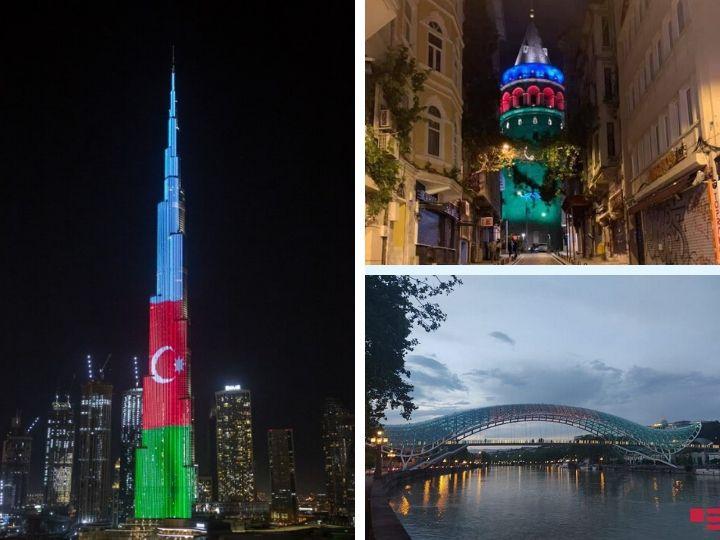 Как разные страны поздравили Азербайджан с Днем Республики - ФОТО - ВИДЕО