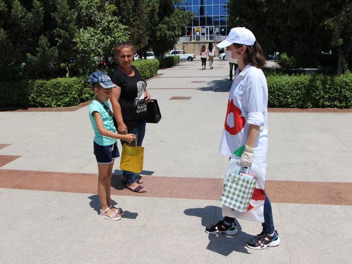 Международный день защиты детей прошел в Евлахе - ФОТО - ВИДЕО