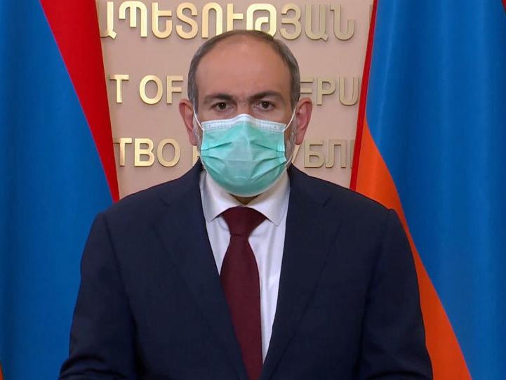 Nikol Paşinyan koronavirusa yoluxub