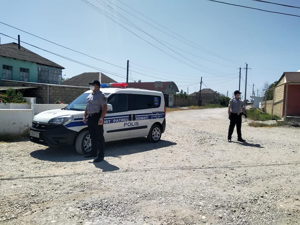 Село в Хачмазском районе взято под особый контроль из-за коронавируса - ФОТО