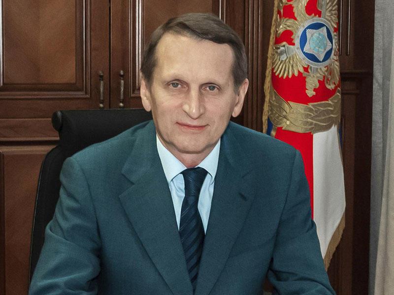 Sergey Narışkin Prezident İlham Əliyevi təbrik edib