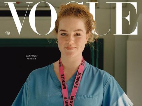 Акушерка, продавщица и машинист поезда попали на обложку журнала Vogue: Все из-за коронавируса – ФОТО