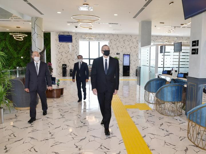 В Агджабеди открылся центр ASAN xidmət - ФОТО