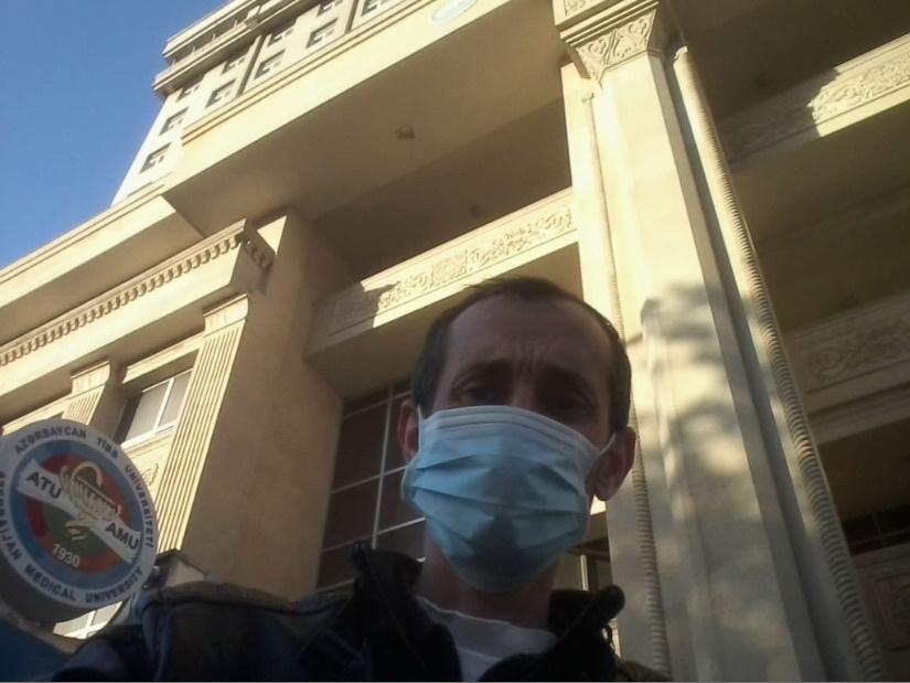 Азербайджанский журналист излечился от коронавируса – ФОТО