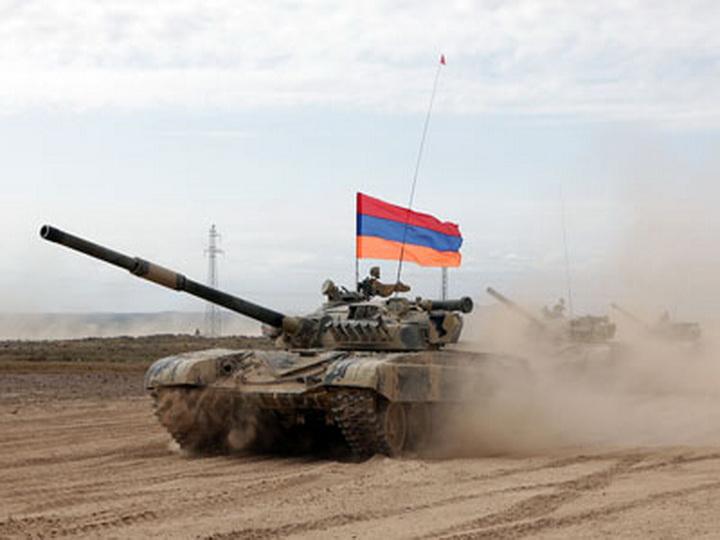 Армяне начали военные учения на оккупированных азербайджанских территориях