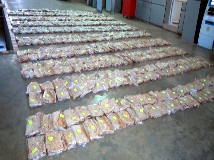 Azərbaycan gömrükçüləri dəyəri 50 milyon avrodan artıq narkotik vasitə aşkarladı - FOTO - VİDEO