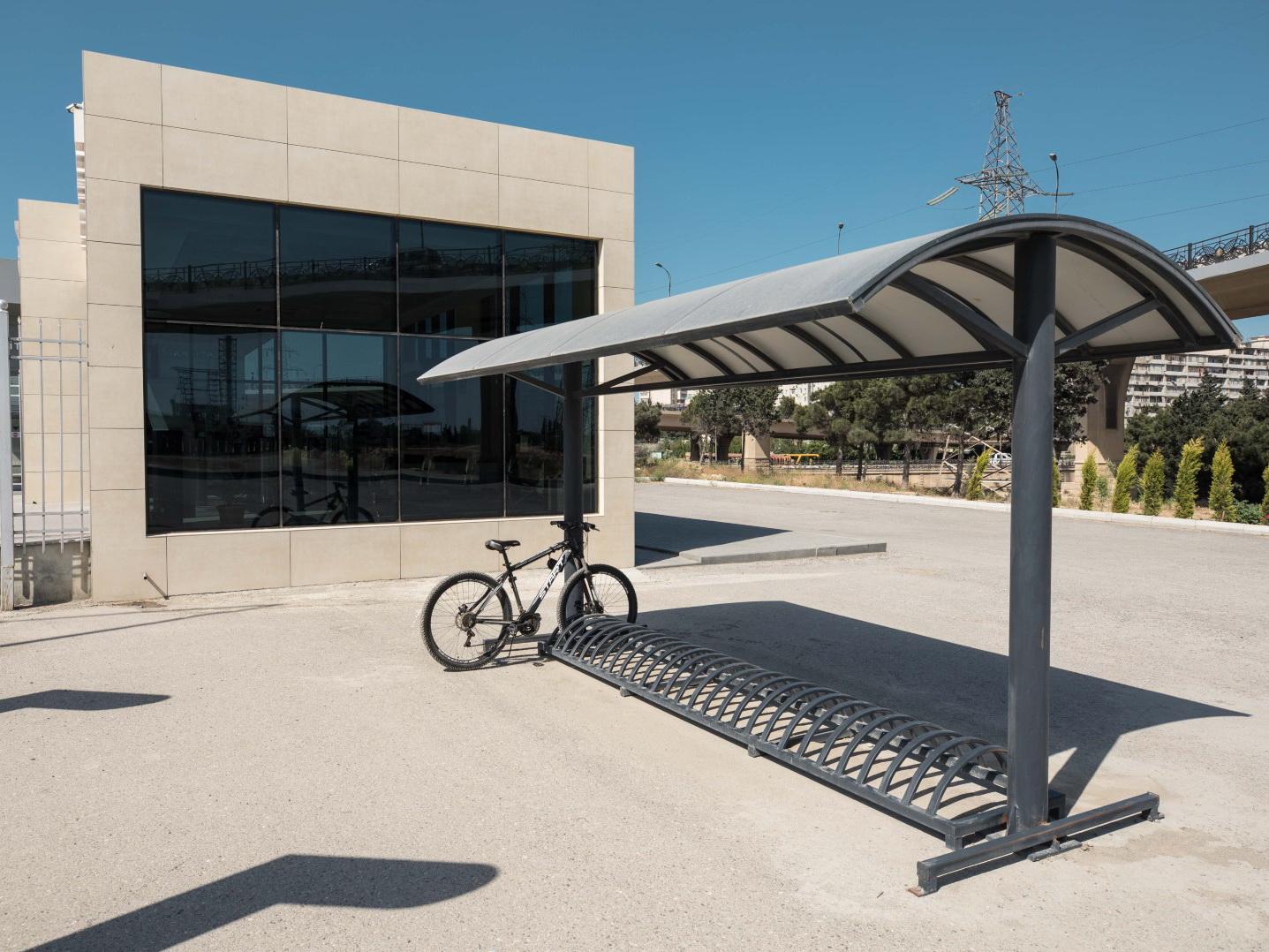 На Абшероне установлены новые велосипедные стоянки - ФОТО