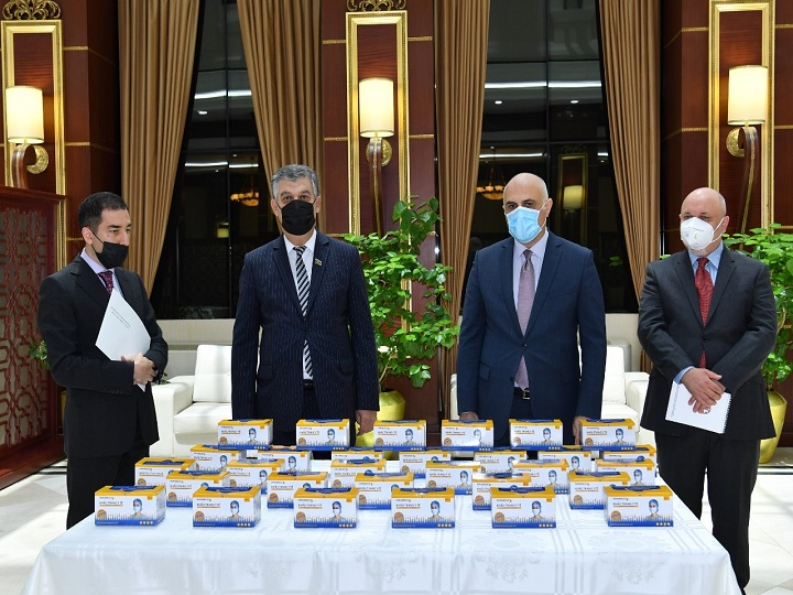 Vyetnam Milli Assambleyası Azərbaycana tibbi maskalar göndərib – FOTO