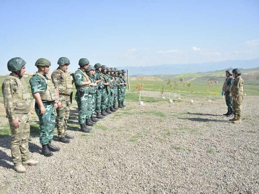 Проинспектированы позиции пограничников на границе с Арменией - ФОТО
