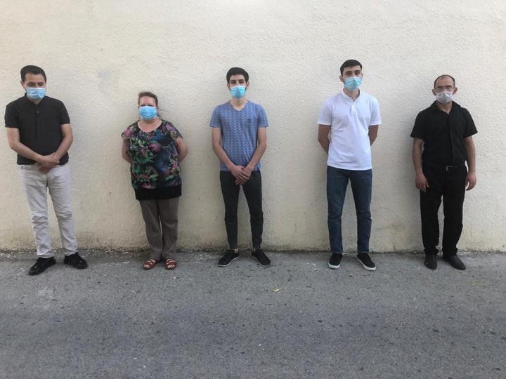 Арестованы лица, устроившие потасовку с полицейскими в Бакметрополитене - ВИДЕО