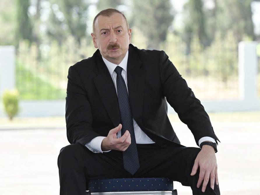 Ильхам Алиев: Армения перекрывает воду Азербайджану, и это –проявление фашизма