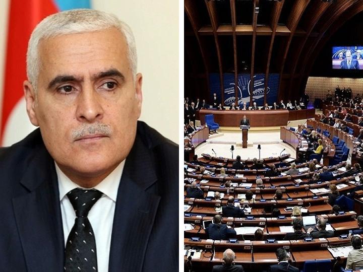 Вугар Рагимзаде: «Политика Совета Европы построена только на предвзятости и клевете»
