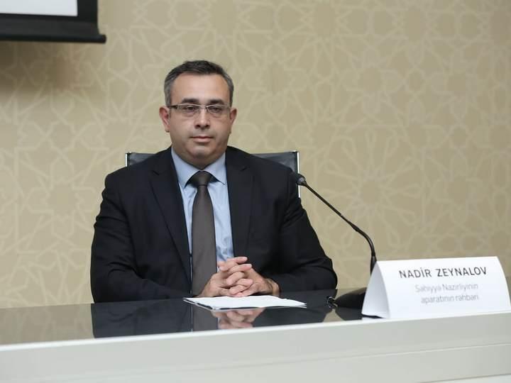 """Nadir Zeynalov: """"Ev şəraitində müalicə olunanlar iltizama qol çəkirlər"""""""