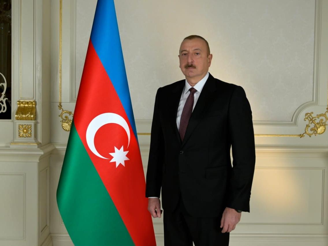 Президент Ильхам Алиев поздравил Президента Руанды