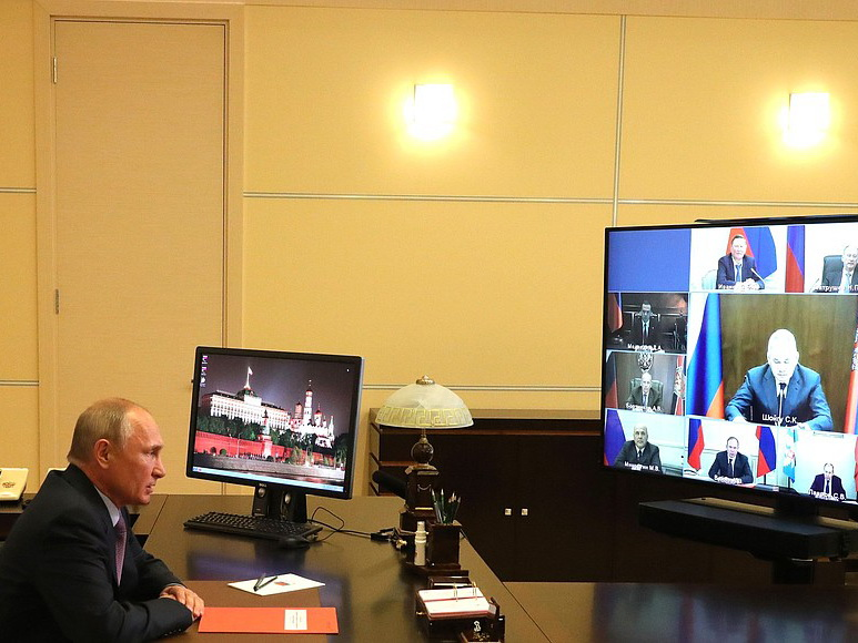 Путин  обсудил с постоянными членами Совбеза России интеграционные процессы на постсоветском пространстве