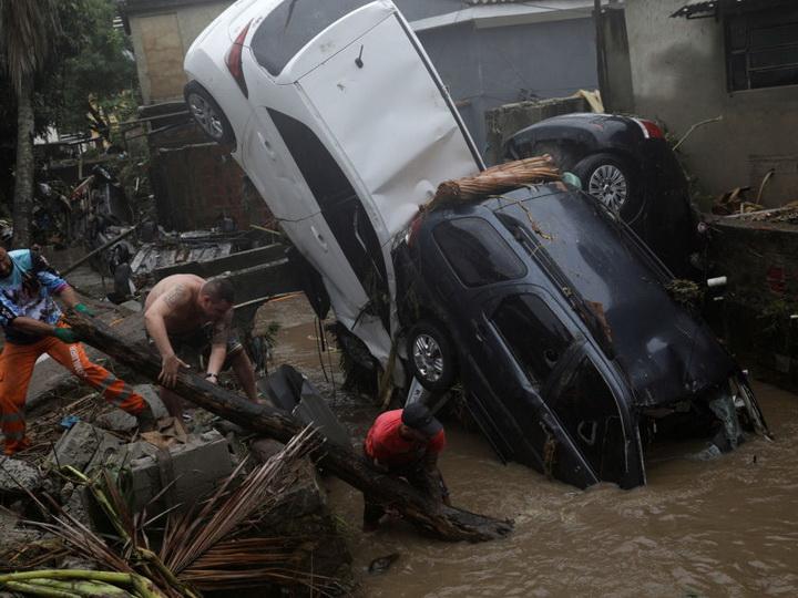 В Бразилии из-за непогоды погибли семь человек