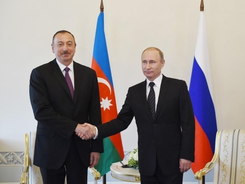 Ильхам Алиев: Изменения в Конституцию РФ внесут большой вклад в дальнейшее развитие России