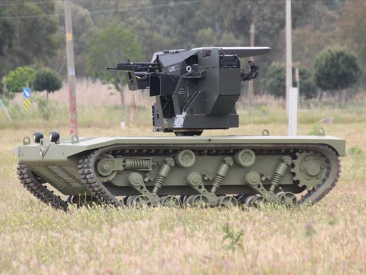 Турция запускает серийное производство беспилотных «мини-танков» - ВИДЕО