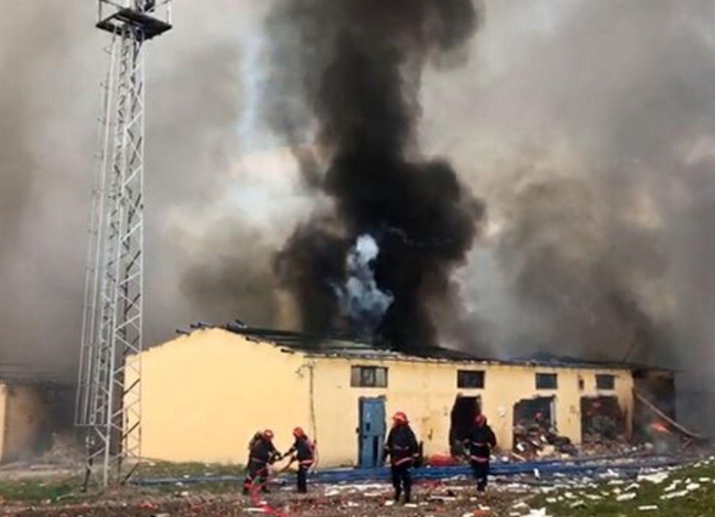 При взрыве на фабрике фейерверков в Турции погибли два человека - ФОТО - ОБНОВЛЕНО