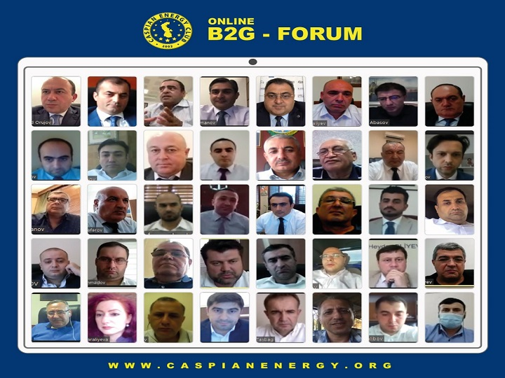 Caspian European Club Rəşad Orucov və Ziya Əliyevin iştirakı ilə onlayn B2G forum keçirib