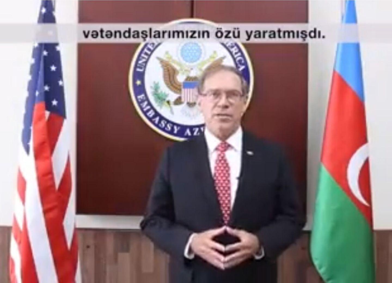 Посол США: «Мы гордимся поддержкой суверенитета и независимости Азербайджана» - ВИДЕО