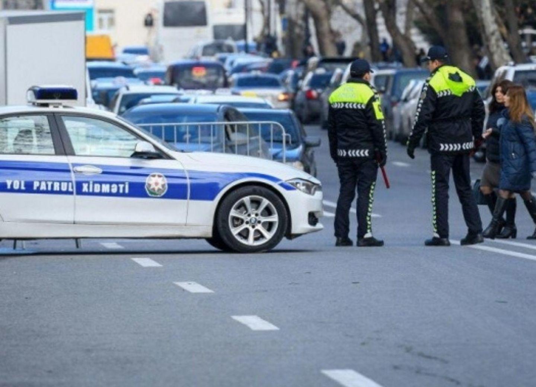 Дорожная полиция: В Баку восстановлены карантинные посты
