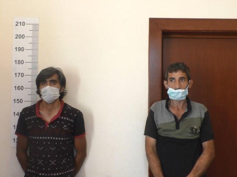 Xüsusi icazədən istifadə edən oğrular saxlanıldılar - FOTO