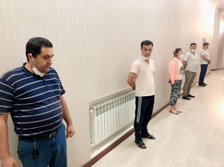 Задержаны 5 человек, отмечавших день рождения на бакинской даче - ВИДЕО