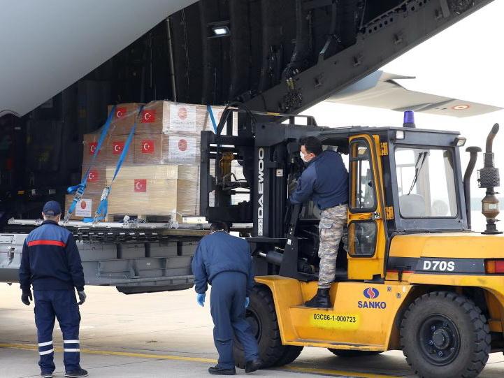 Турция направила Азербайджану гуманитарную  помощь для борьбы с коронавирусом