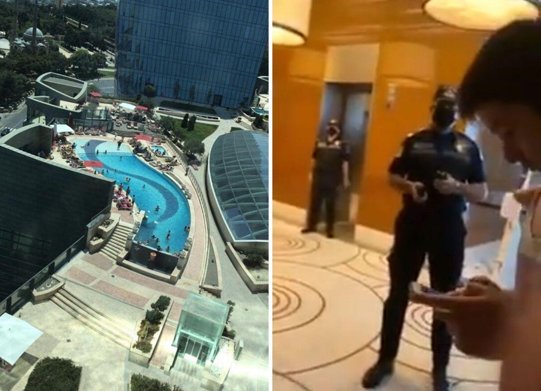 МВД АР сделало заявление об операции в бакинском отеле - ФОТО - ВИДЕО