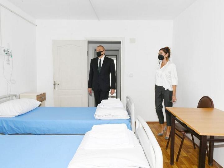 Prezident və birinci xanım Xətaidə modul tipli hospitalın açılışında iştirak ediblər – FOTO – YENİLƏNİB