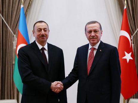 Prezident İlham Əliyev Rəcəb Tayyib Ərdoğana təşəkkür edib