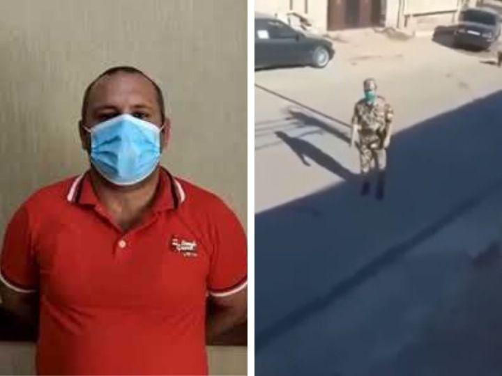 В Баку задержан гражданин за издевательское отношение к военнослужащему - ВИДЕО