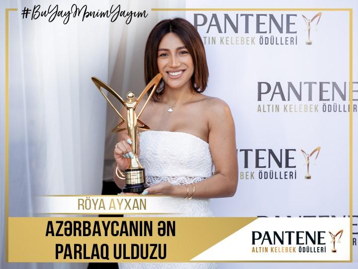 Pantene Altın Kelebek Mükafatının qalibi Röya oldu - FOTO
