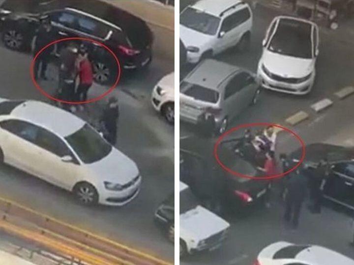 ГУПБ - о распространенных в соцсетях кадрах, где сотрудники полиции насильно сажают женщину в автомобиль - ВИДЕО