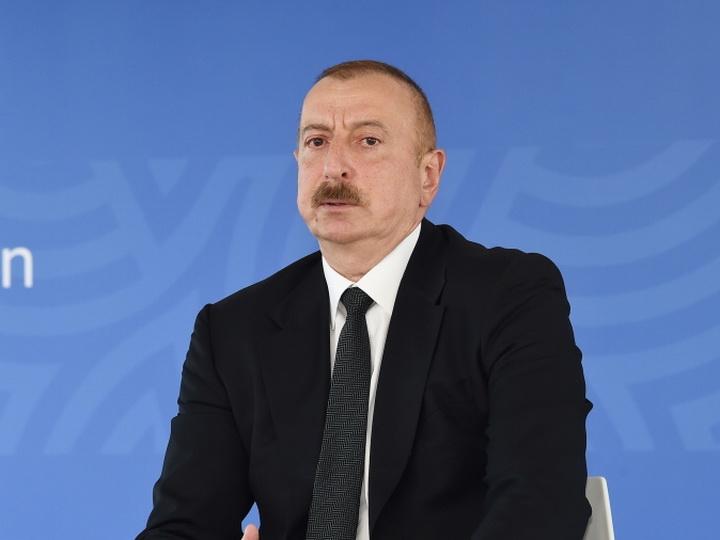 Президент Ильхам Алиев: «Позорный инцидент, произошедший вчера в известном отеле, неприемлем»