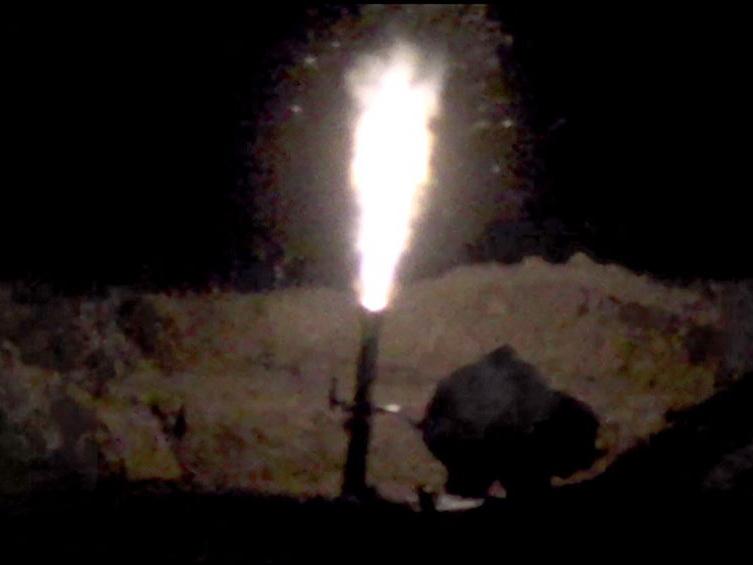 В воинских частях в прифронтовой зоне проведены учения в ночное время - ВИДЕО