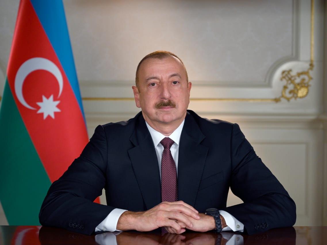 Президент Ильхам Алиев выразил соболезнования императору Японии
