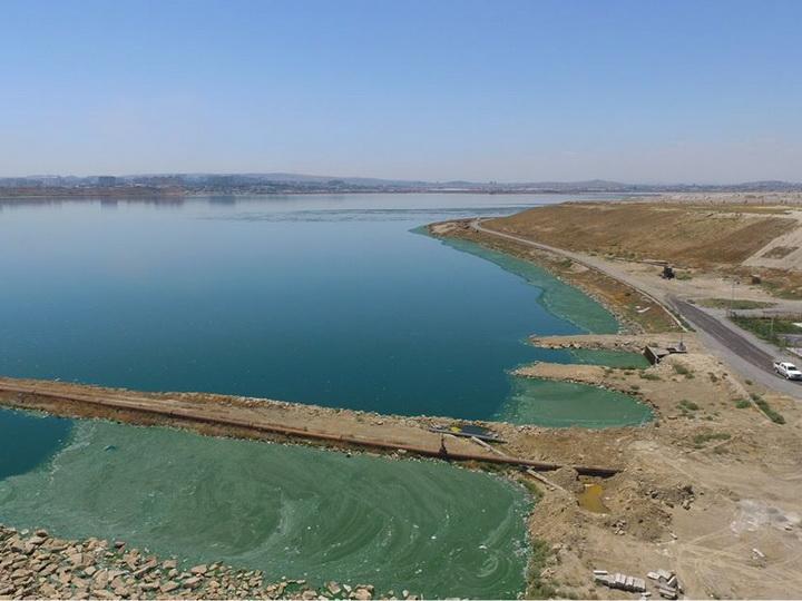 Сточные воды из канализационной системы «Азерсу» в Беюк-Шор не сбрасываются - ФОТО
