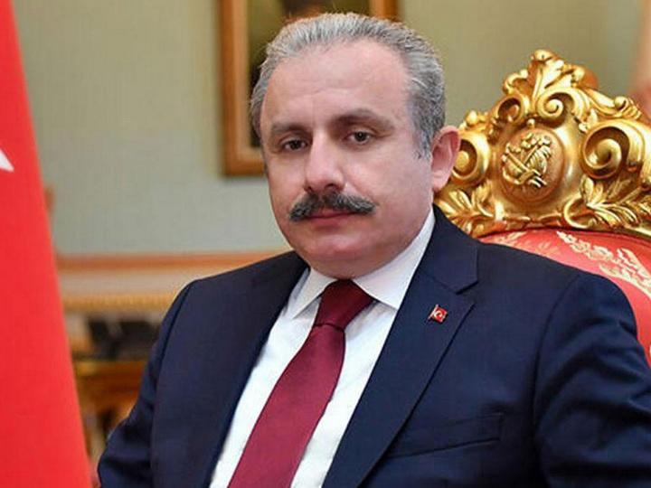 Председателем парламента Турции переизбран Мустафа Шентоп