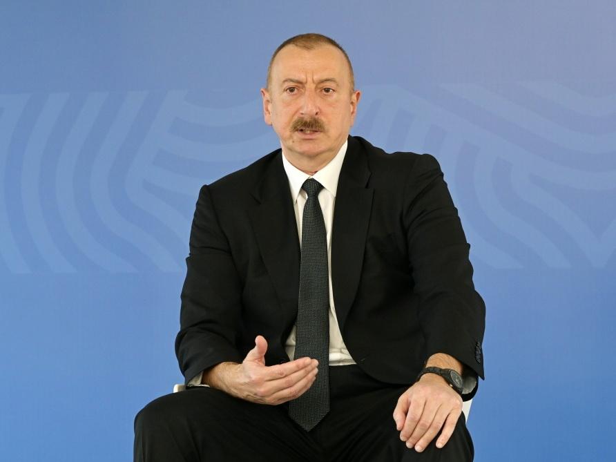 Ильхам Алиев: Мы выстоим, если даже цены на нефть составят 14 долларов