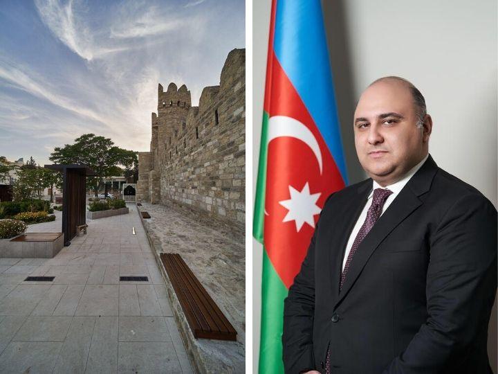 Риад Гасымов о новых реставрационных работах и открытии исторического комплекса в Ичеришехер - ФОТО