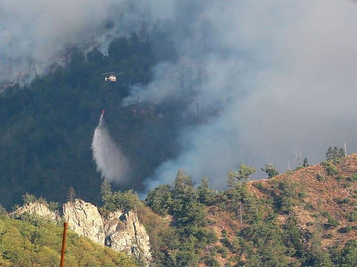 Экологический террор: Учиняемые армянами пожары на оккупированных территориях уничтожают экологию региона