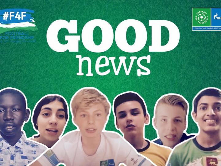 Юный журналист из Азербайджана поддерживает мир «Хорошими Новостями» - ВИДЕО