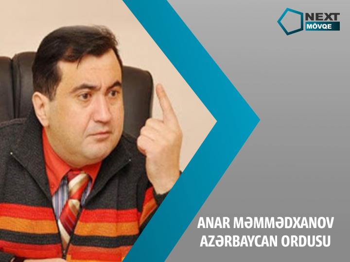 NEXT TV. Анар Мамедханов: «Армия должна быть элитой нашего народа» - ВИДЕО