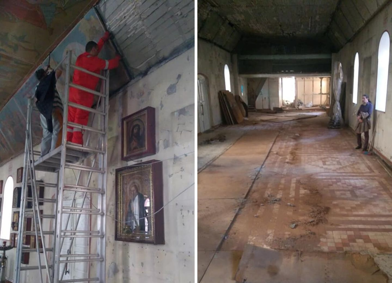 Начат капитальный ремонт старейшей православной церкви Баку – ФОТО