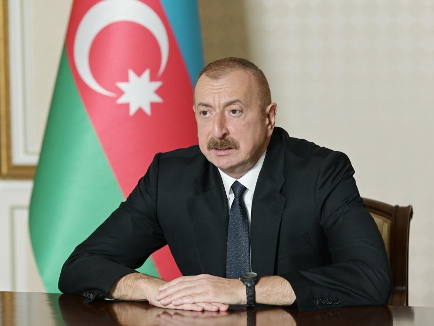 Ильхам Алиев: Армянские солдаты не смогли пройти даже сантиметра азербайджанской земли - ВИДЕО