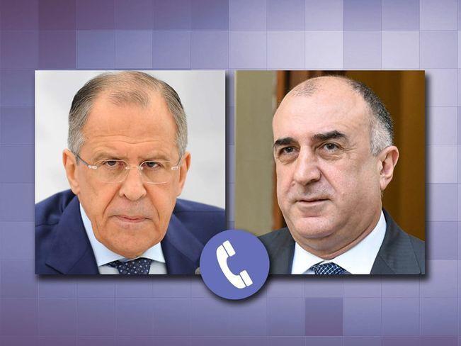 Мамедъяров в беседе с Лавровым назвал неприемлемыми действия Армении на границе с Азербайджаном
