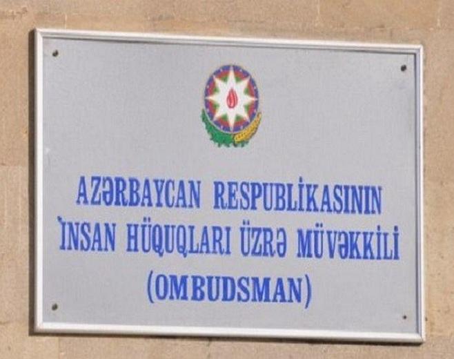 Ombudsman Aparatı Ermənistanın sərhəddə törətdiyi təxribatla bağlı açıqlama yayıb