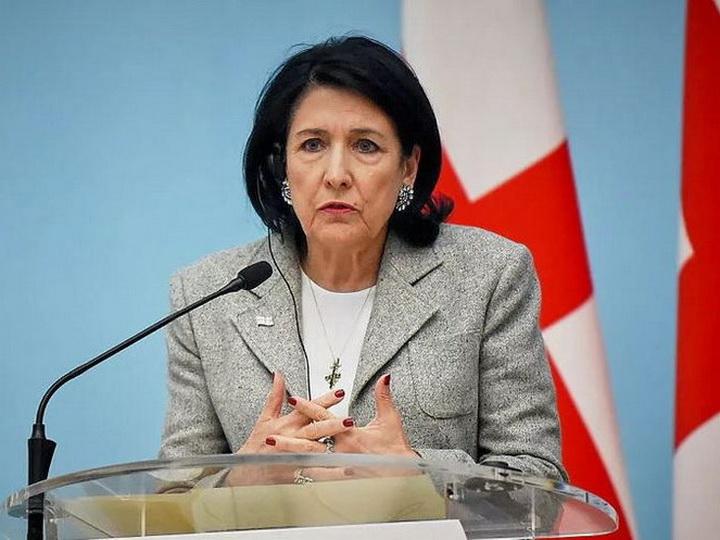Президент Грузии выразила озабоченность по поводу вооруженного конфликта на границе между Азербайджаном и Арменией